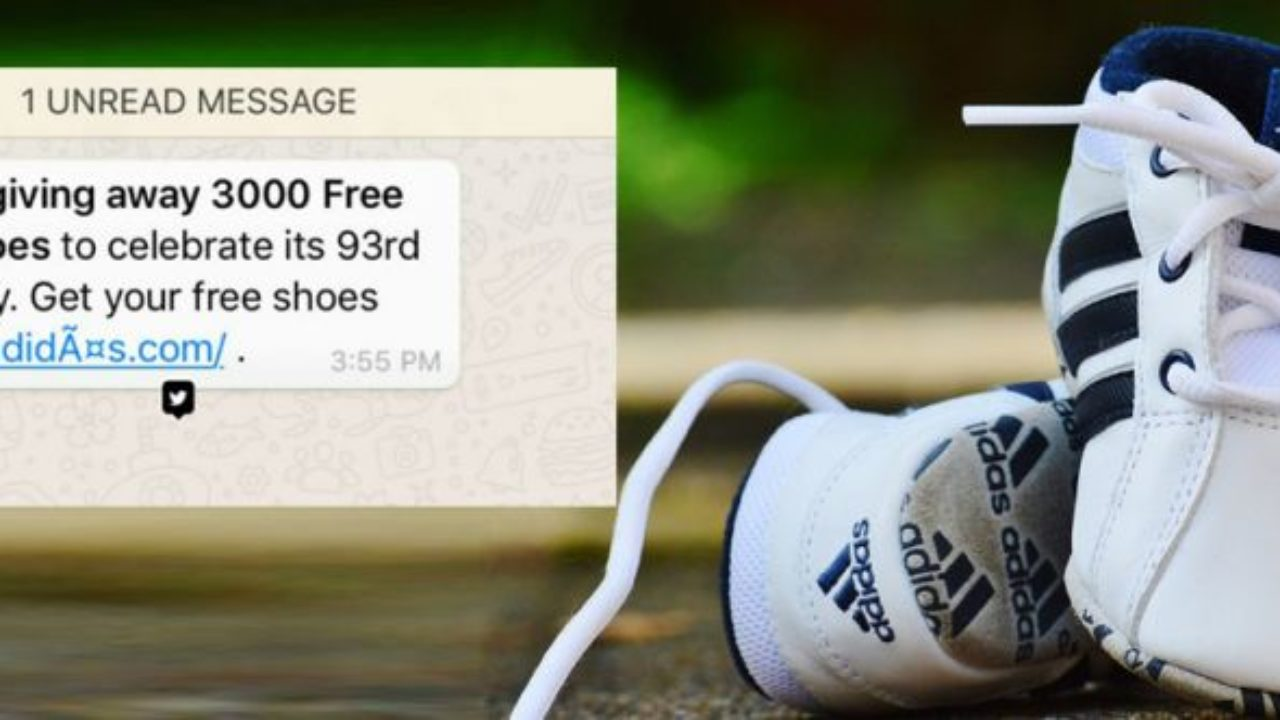 Adidas is giving 3000 free shoes': Don't fall for it, it's a ...