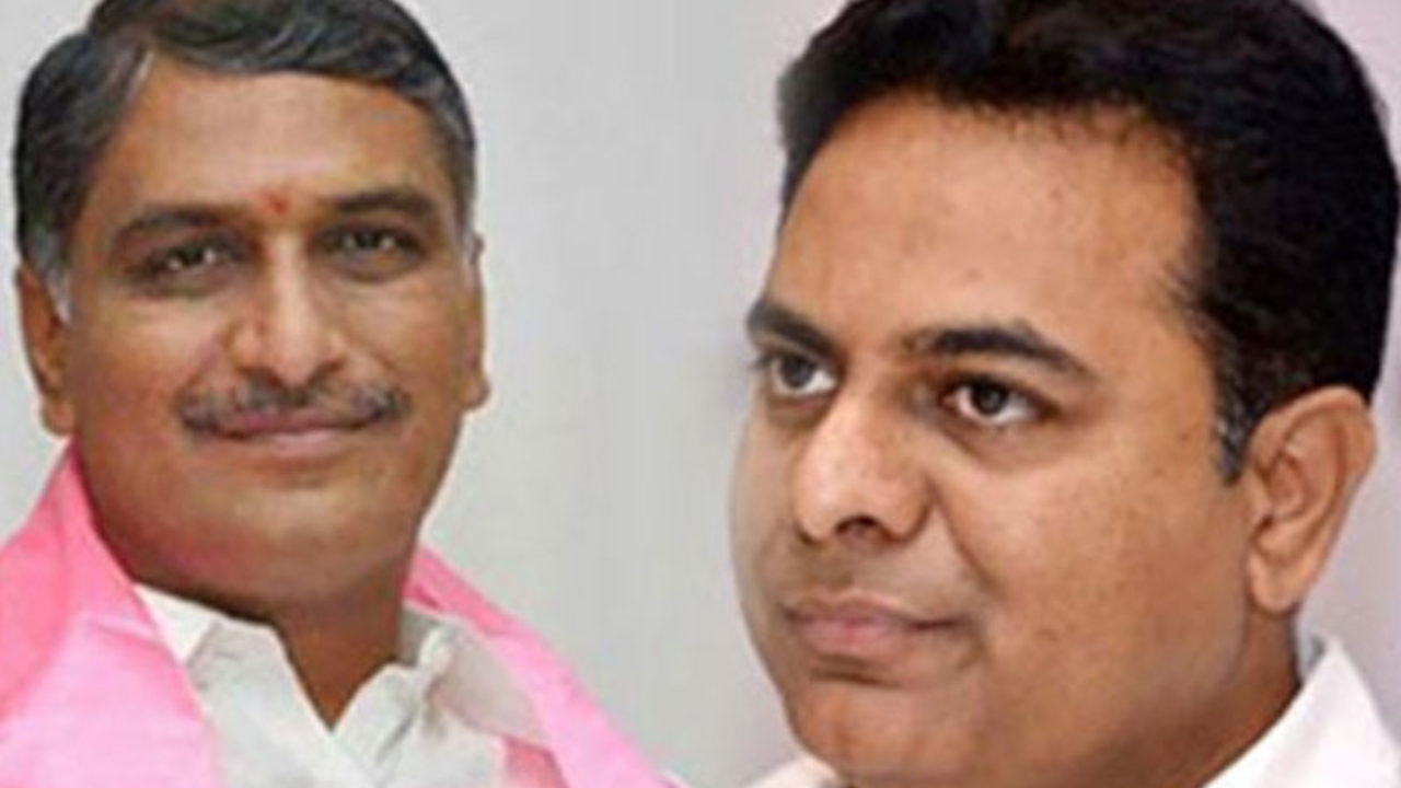 TRS divided into two groups, supporters of Harish Rao get irritated