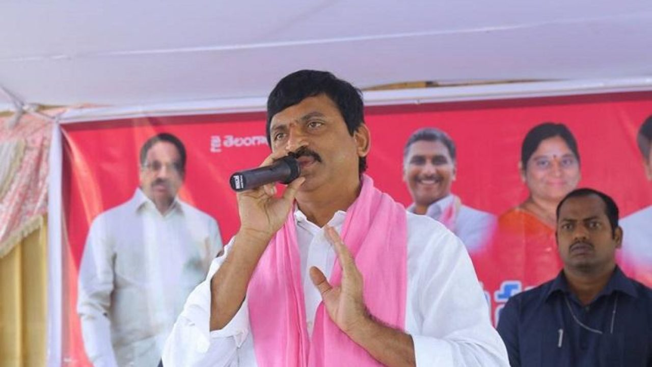 TRS MP candidate M Srinivas Reddy files nomination – The Siasat Daily